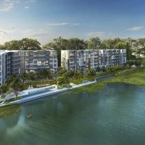 1- комнатные апартаменты в Cassia Residence Phuket (Type A1)
