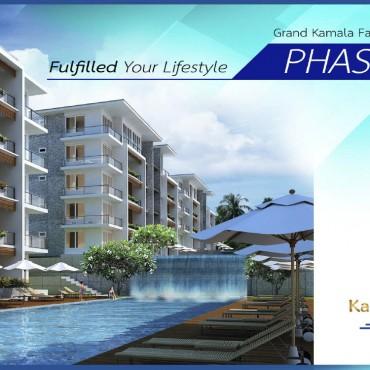 1 Bedroom Apartment (Type C3) in Grand Kamala Falls Residential Resort, Pool View