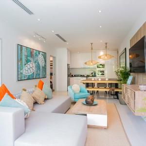 2-комнатные апартаменты (Type C2) в Grand Kamala Falls Residential Resort, вид на бассейн