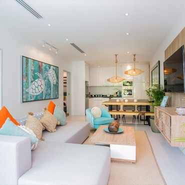 2 Bedrooms Apartment (Type C3) in Grand Kamala Falls Residential Resort, Pool View
