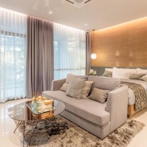 2 спальные апартаменты в Sea Heaven Condominium (type C1) с видом на бассейн