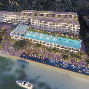2- комнатные апартаменты (Type B) в The Passport resort & Yacht Club с видом на море