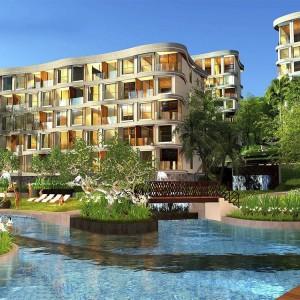 1- комнатные апартаменты в VIP Mercury Condominium (Type D) в  с видом на горы