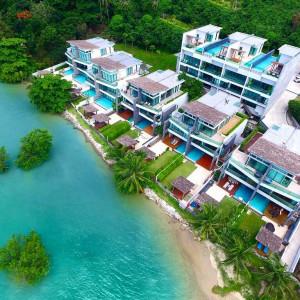 Ocean view beachfront luxury villa