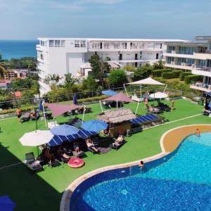 """Квартира 1 спальня c видом на море """"Alegra"""" в продаже, Karon beach"""