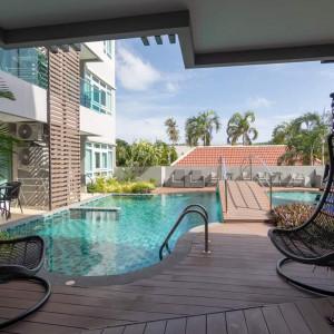"""Квартира 1 спальня в продаже """"Estela"""" Nai Harn beach"""