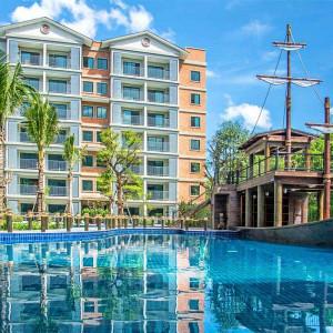 2 комнатная квартира в продаже «Эрис» Nai Yang beach