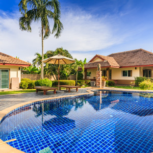 """4 bedrooms villa with swimming pool for sale """"Amber"""" in Nai Harn"""