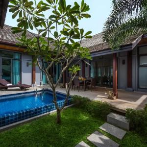"""3 bedrooms villa for sale at """"Jema"""" Nai Harn beach"""