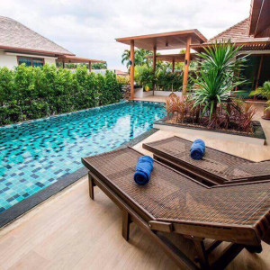 "3 bedrooms villa with swimming pool for rent ""Jacqueline"", Nai Harn beach"