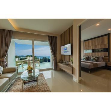 Люксовая квартира с видом на море Раваи