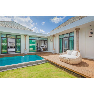2 bdr new luxury villa in Chalong