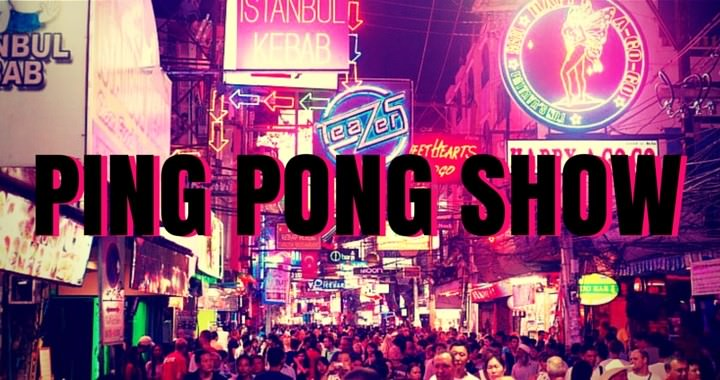 What is a ping pong show?