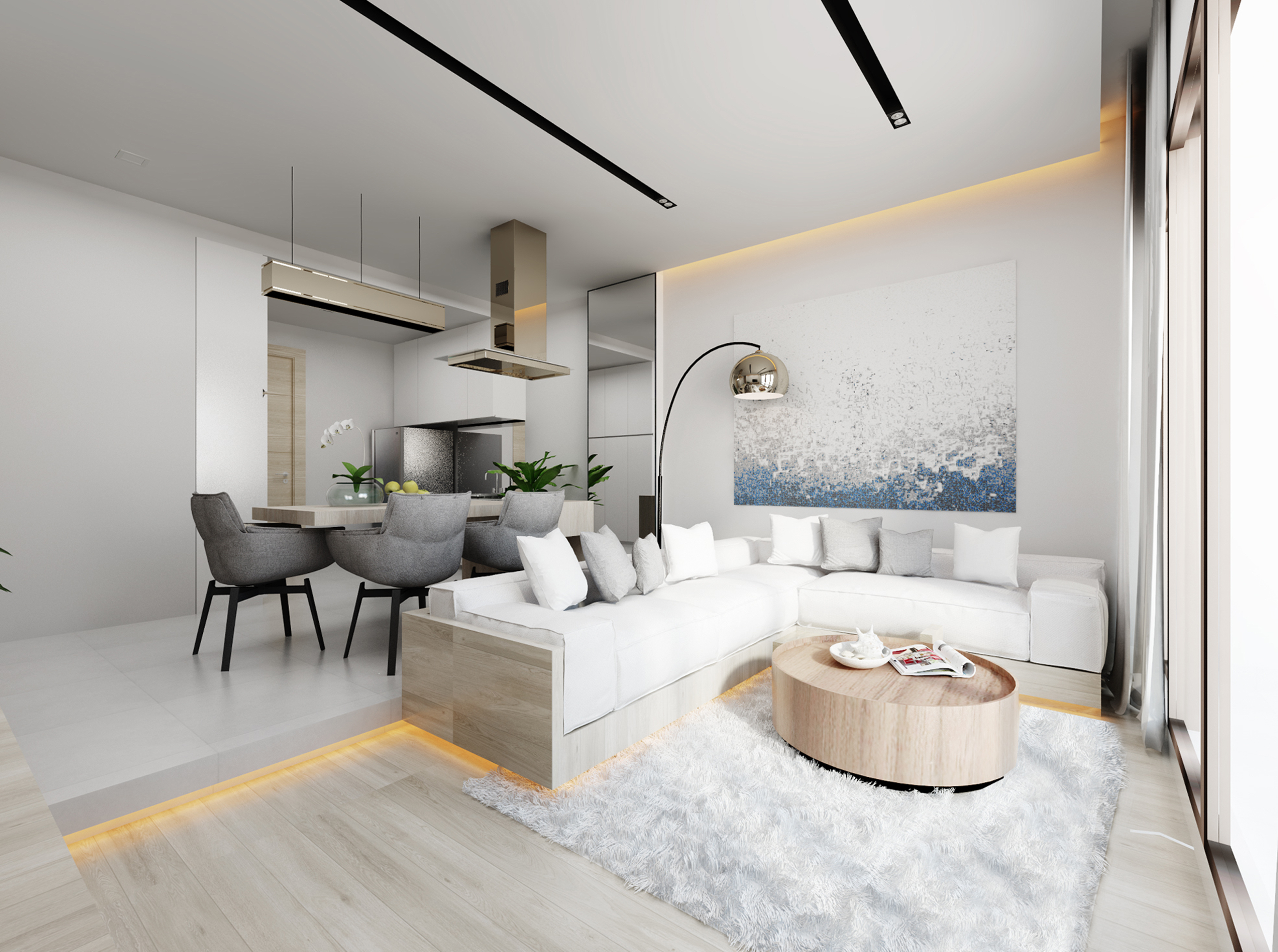 New Stylish Apartments In The Top Project On Island Of Et